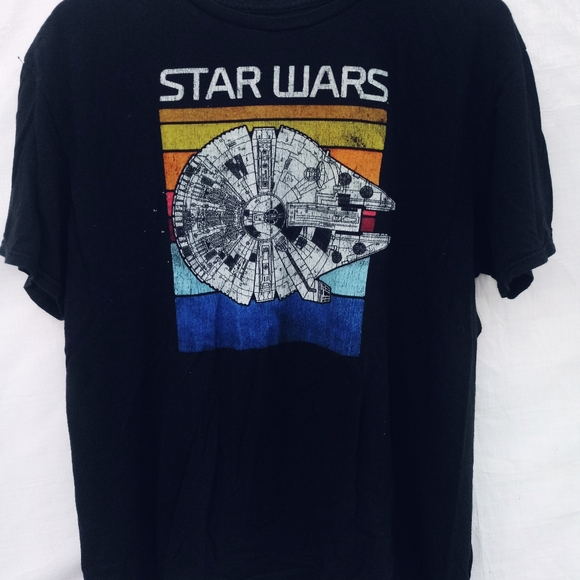 Star Wars Millennium Falcon T-Shirt Men's Sz XL